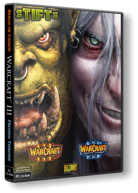 Warcraft 3 Frozen Throne [v 1.26a] (2002) PC | Repack от =TIFT=