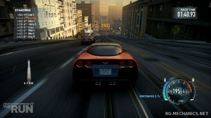 Скриншот к игре Need for Speed: The Run [v 1.1 + DLC] (2011) PC | RePack от R.G. Catalyst