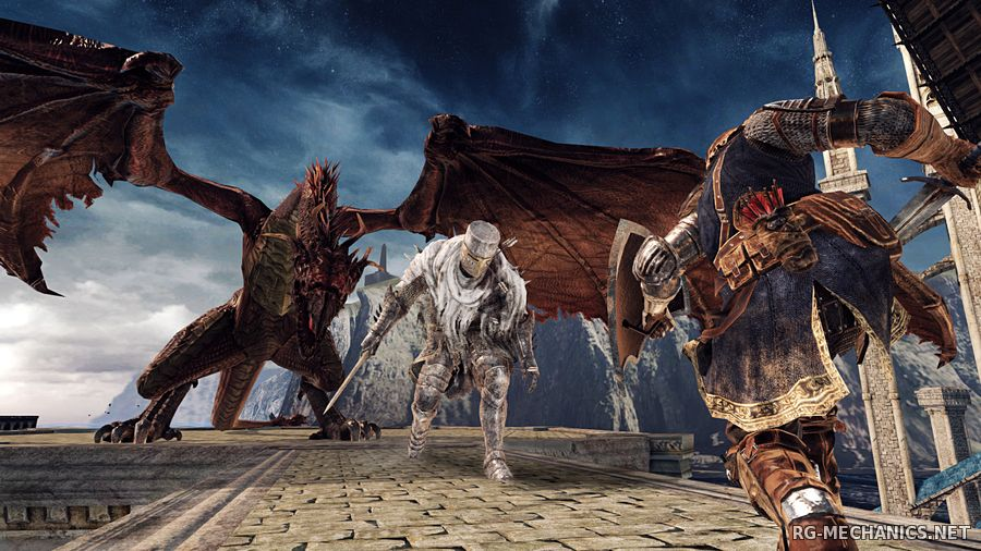 Скриншот 1 к игре Dark Souls 2: Scholar of the First Sin [v 1.01 r 2.01] (2015) PC | Лицензия