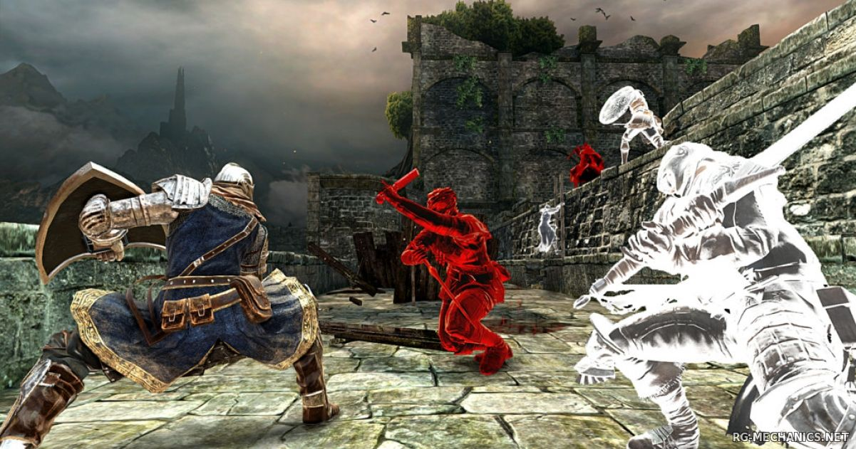 Скриншот 2 к игре Dark Souls 2: Scholar of the First Sin [v 1.01 r 2.01] (2015) PC | Лицензия