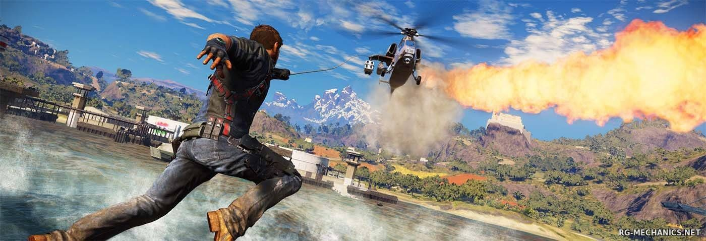 Скриншот к игре Just Cause 3 - XL Edition [v 1.0.5 + 10 DLC] (2015) PC | RePack от Valdeni