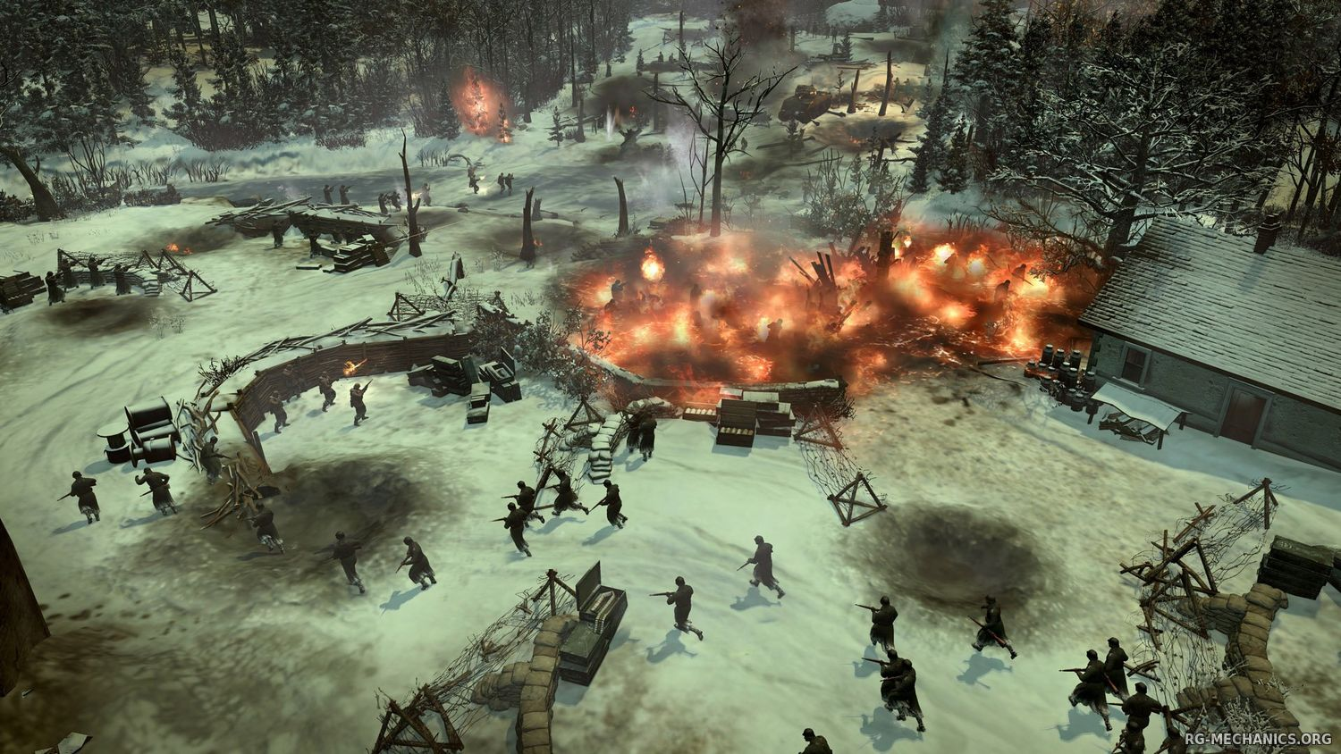 Скриншот 2 к игре Company of Heroes 2: Master Collection [v 4.0.0.21701 + DLC's] (2014) PC | RePack от R.G. Механики