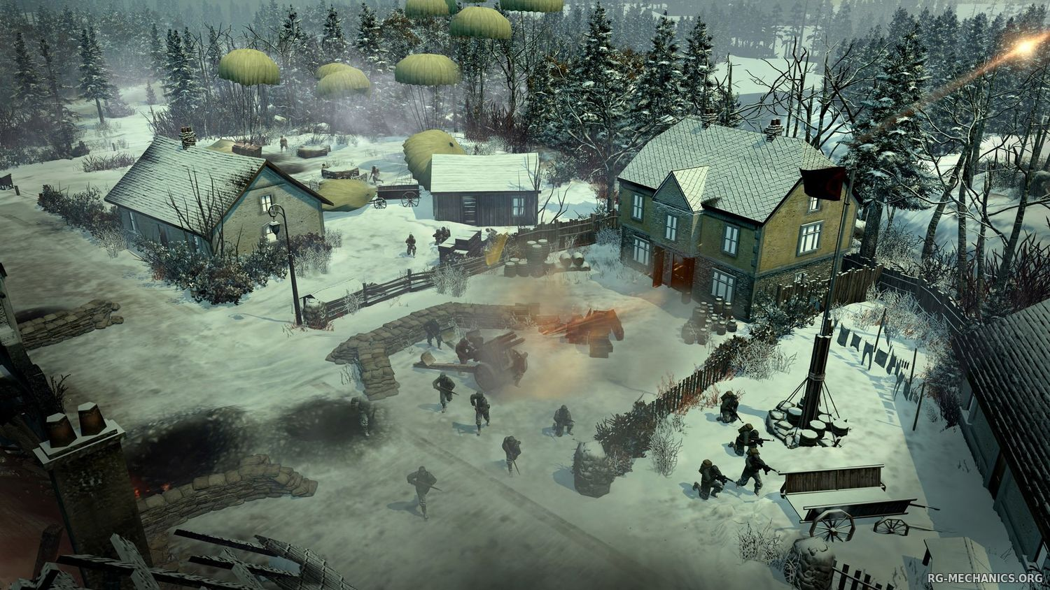 Скриншот 3 к игре Company of Heroes 2: Master Collection [v 4.0.0.21701 + DLC's] (2014) PC | RePack от R.G. Механики