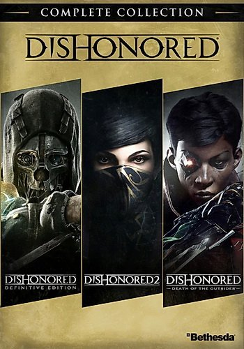 Dishonored: Complete Collection (2012-2016-2017) скачать торрент RePack
