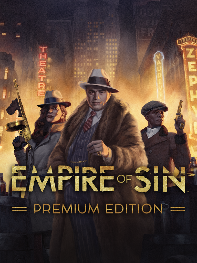 Обложка к игре Empire of Sin - Premium Edition [Portable] (2020) Лицензия